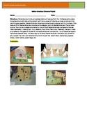 Native American Project-Create a Diorama