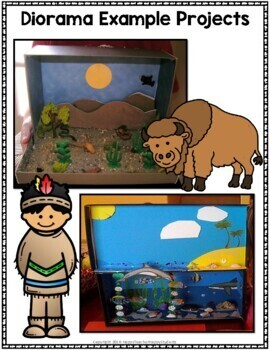 Native American Project: Decorate a Shoebox Diorama: Perfect for ANY Tribe!
