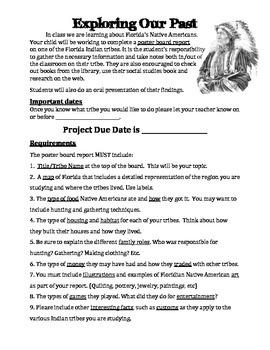 Native American Project :Florida
