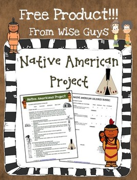 FREE Native American Project with Directions, Rubric, and Group Grid