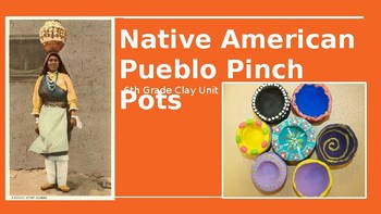 Native American Pueblo Pottery (Clay Pinch Pots Lesson Plan BUNDLE!)
