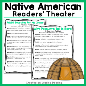 Native American Readers' Theater Scripts