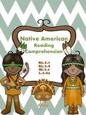 Native American Reading Comprehension Set