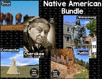 Native American Reading Passages Bundle