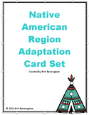 Native American Region Card Activity