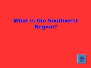Native American Region Jeopardy