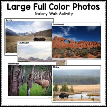 Native American Regions: 3rd grade Interactive PowerPoint with Mini Book