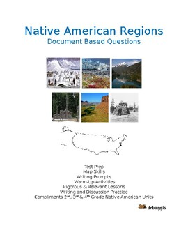 Native American Regions Document Based Questions