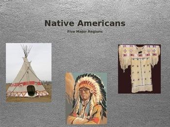 Native American Regions Powerpoint