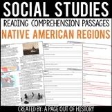 Native American Regions Reading Comprehension Passages (Social Studies)