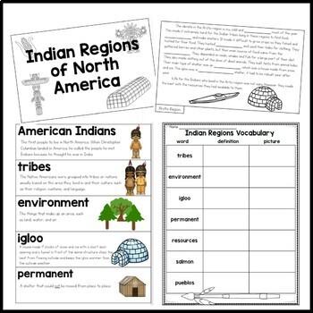 Native American Regions for Google Classroom