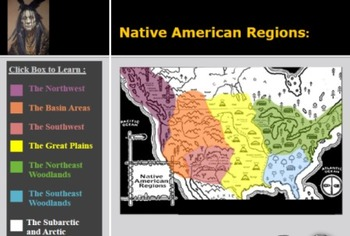 Native American Regions (for teaching & student group work) Power Point