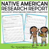 Native American Report for 3rd - 6th Grade