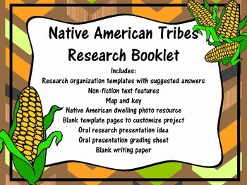 Native American Research Booklet