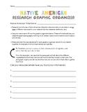 Native American Research Graphic Organizer