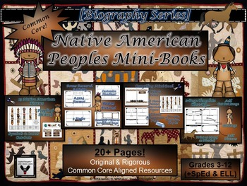 Native American Research Mega Activity Bundle