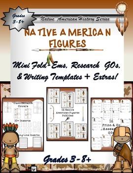 Native American Research Mini Fold-Ems