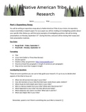 Native American Research Paper with Presentation - Expository Essay