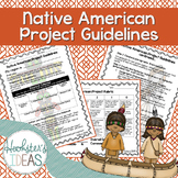 Native American Research Project Guidelines