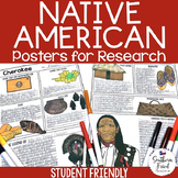 Native American Research Project Posters