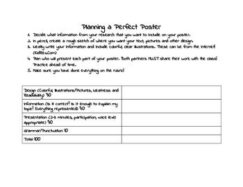 Native American Research Project Rubrics and Guides