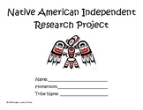 Native American Research Project (graphic organizers)