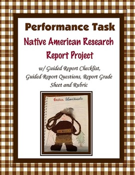 Native American Research Report (Project)