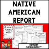 Native American Research Report