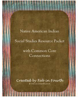 Native American Resource Packet