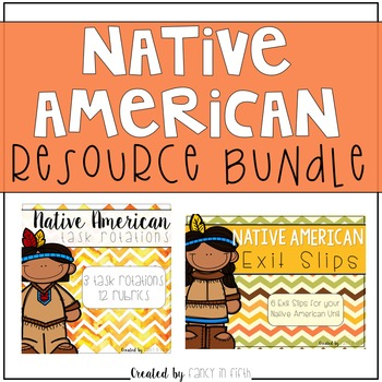 Native American Resources {Bundle}