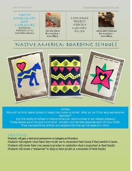 Boarding Schools: Native American Art- Memory Pouch Project