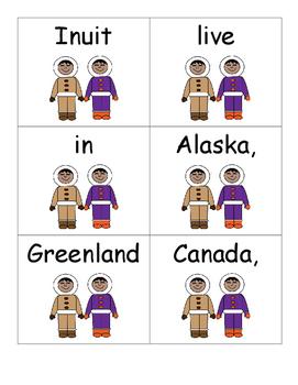 Native American Sentence Scramble