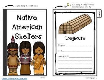 Native American Shelter Flipbook-Interactive