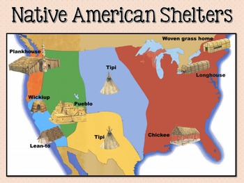 Native American Shelters (Aligned to Common Core)