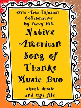 Native American Song Of Thanks Music Duo