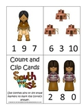 Native American South West Indians theme Count and Clip Ca