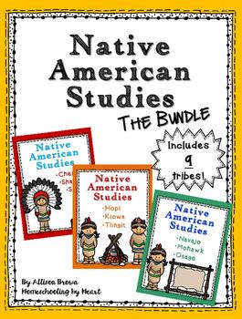 Native American Tribes Bundle