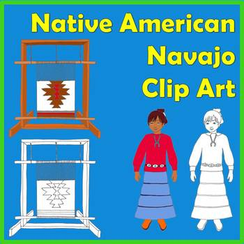 Native American Studies Clip Art: Navajo