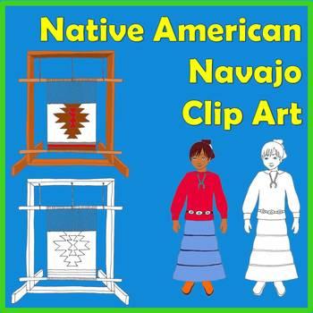 Native American Studies Clip Art: Navajo