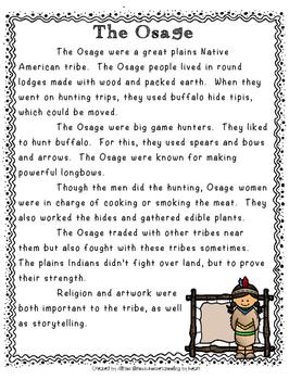 Native American Tribes - Set 3
