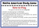 Native American Study Game