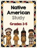Native American Study Grades 3-5