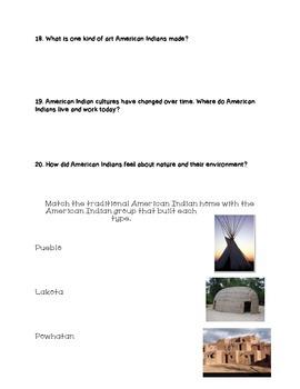 Native American Study Guide