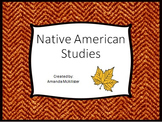 Native American Study and Research Project