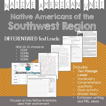 Native Americans of the Southwest Region