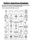 Native American Symbols Writing Worksheet
