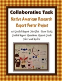 Native American Report and Poster {Team Task}