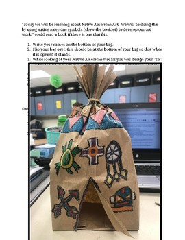 Native American Teepee Lesson Plan