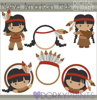 Native American Thanksgiving Clip Art