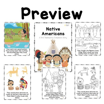 Native American Thanksgiving Informative Story